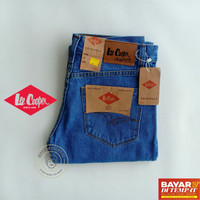 OBRAL Lee Cooper Biru Muda 33 - 38 Celana Jeans Pria Panjang Standard