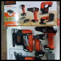 BEST baru alat pertukangan gopack black + Decker 4 in 1 original