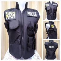 Rompi Police Turn Back Crime / Rompi Vest Polisi Sepeda Motor