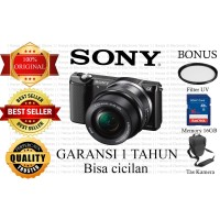 Kamera Mirrorless Alpha 5000 / SONY A5000 KIT 16-50MM Kamera Baru ORI