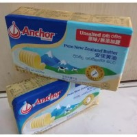 BUTTER ANCHOR UNSALTED 227 GR (KHUSUS GOSEND & GRAB)