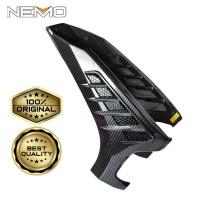 Cover / Tutup Variasi Sen Depan Carbon Yamaha New Nmax 2020