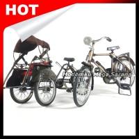 Paket Isi 2 - Miniatur Becak & Sepeda Onthel Laki Pajangan