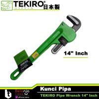 """TEKIRO Kunci Pipa 14 Inch Pipe Wrench Tekiro 14"""" Inch Heavty Duty"""