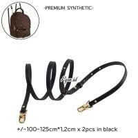 Aksesoris tas strap LV Vachetta synthetic backpack strap black