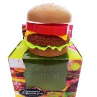 Mainan Diy Susun Makanan Burger