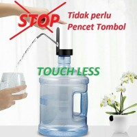Pompa Galon Elektrik OTOMATIS, Touch Less, Automatic Water Dispenser