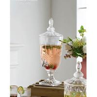 Dispenser Kristal/Crystal Glass/Glass Storage Drink/Dispenser/Glass/2L