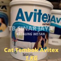 Cat Avitex Avian 1kg/ Cat Tembok/ Plafon/ Gysum Avian Brands X VINILEX - SW SUPER WHITE