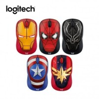 Mouse Logitech Wireless Marvel Collection M238 Original Garansi Resmi - SPIDERMAN