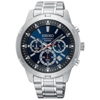 Jam Tangan Pria Seiko Neo Sport Chronograph Quartz Navy Dial SKS603P1