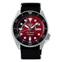 Jam Tangan Pria Seiko 5 Sports Brian May Limited Edition Red SRPE83K1