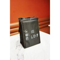 LEMONDISCOFISH Cooler Bag Cool Bag Tas Aluminium Ice Cream - Zipper
