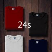 Kaos Polos Pria Cotton Bamboo cotton combed 24s lengan pendek Original