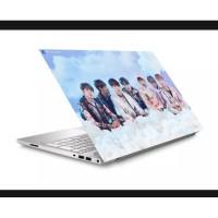 Stiker Laptop PC Notebook Garskin Pelindung Anti Gores IDOL
