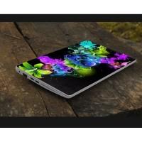 Stiker Laptop PC Notebook Garskin Pelindung Anti Gores bunga