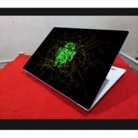 Stiker Laptop PC Notebook Garskin Pelindung Anti Gores green