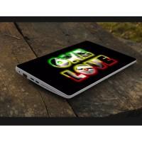 Stiker Laptop PC Notebook Garskin Pelindung Anti Gores one love