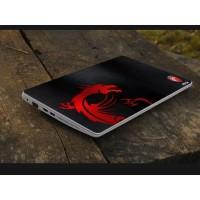 Stiker Laptop PC Notebook Garskin Pelindung Anti Gores merahitam