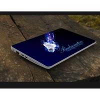 Stiker Laptop PC Notebook Garskin Pelindung Anti Gores bulutangkis
