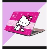 Stiker Laptop PC Notebook Garskin Pelindung Anti Gores hello kitty