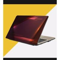 Stiker Laptop PC Notebook Garskin Pelindung Anti Gores Coklat