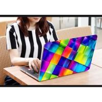 Stiker Laptop PC Notebook Garskin Pelindung Anti Gores pelangi