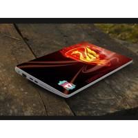Stiker Laptop PC Notebook Garskin Pelindung Anti Gores emas