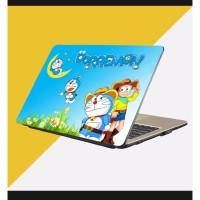 Stiker Laptop PC Notebook Garskin Pelindung Anti Gores motif doraemon