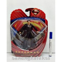 Action Figure SUPERMAN WITH BLACK SUIT MOVIE MASTERS