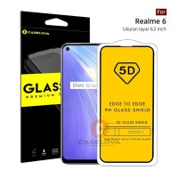 Full Cover Tempered Glass 5D / 6D / 9D REALME 6