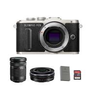 Olympus PEN E-PL8 Kit Lens 14-42mm EZ + 40-150mm R - (Extra Baterai)