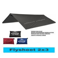 Flysheet 2x3m Tenda camping