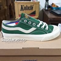 Sepatu Ventela Public Suede Low Dark Green / Public Suede Green Low