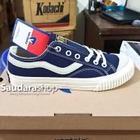 Sepatu Ventela Public Suede Low Dark Navy / Public Suede Navy Low