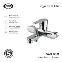 AER Kran Bathub Shower Panas Dingin - Keran Mixer SAG-BS3