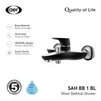 AER Kran Bathub Shower - Keran Air Panas Dingin Kuningan SAH BB1 BL