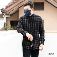 Kemeja Pria / Kemeja Flanel Lengan Panjang Premium Quality