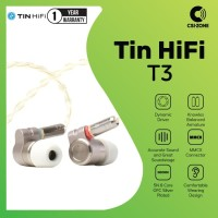 Tin Audio T3 HIFI In Ear Monitor Earphone with MMCX