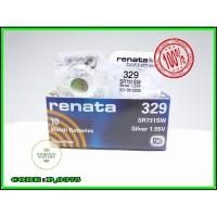 BATTERY BATERAI BATRE JAM RENATA SR731SW RENATA 329 ORIGINAL SR-731SW