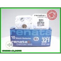 BATTERY BATERAI BATRE JAM RENATA SR616SW RENATA 321 ORIGINAL SR-616SW