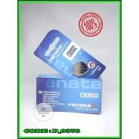 Baterai Kancing Batere battery Batrei Renata CR 2032 Original CR-2032