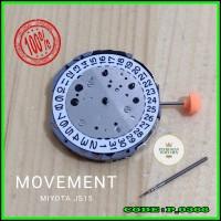 Mesin jam Tangan Miyota Js15 Js-15 Original Movement JS15 Asli Japan
