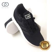 Sale Sepatu Wanita Adidas Original Adidas Run 70s Black Carbon White - 37.5