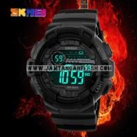 Jam Tangan SKMEI G-Shock Laser Hitam 1243 Original Impor Tahan Air 50M