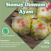 Nudi - Siomay Dimsum Ayam Frozen - 225gr Isi 15pc