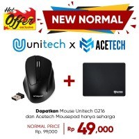 Unique Mouse Wireless 2.4G For Komputer Laptop PC Wireless Mouse