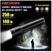 NICRON N4 OUTDOOR WATERPROOF FLASHLIGHT SENTER Level IPX4