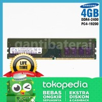Longdimm Memori Ram PC Komputer 4GB DDR4-2400 PC4-19200