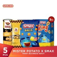 Mister Potato x SMAX - Paket Bucheeze Sekut